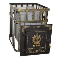 Чугунная Банная Печь «Гефест» ПБ-04С ЗК