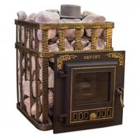 Чугунная Банная Печь «Гефест» ПБ-04МС ЗК
