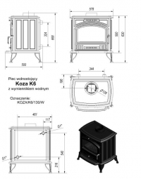Koza/K6/W (c вод.контуром)
