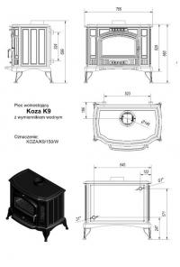 Koza/K9/W (c вод.контуром)
