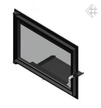 Дверца в сборе для топок Oliwia/Wiktor