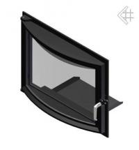 Дверца в сборе для топок Zuzia/Eryk (панорама)