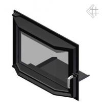 Дверца в сборе для топок Zuzia/Eryk (призма)