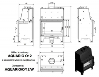 Топка с водяным контуром AQUARIO/O/12/PW/W