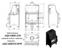 Топка с водяным контуром AQUARIO/Z/10/PW/W