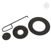 Чугунные кольца с держателем