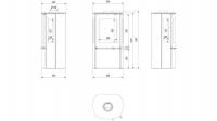 Печь-камин FALCON 9 VIEW