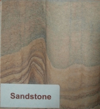 Притопочная панель Ronda, мрамор Ruivina пескоструйная