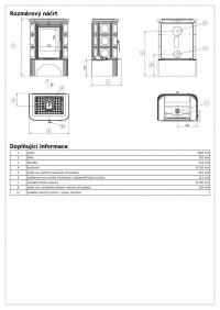 Керамическая печь MARINA KPI, с допуском воздуха