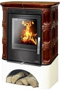 Керамическая печь MARINA KPI, с теплообменником, с допуском воздуха