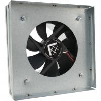 Вентилятор-переходник от трубы к решетке 17х17 d-100мм(без термостата)