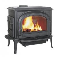 Jotul F500.2 SE CB Special Edition (Йотул Ф 500, матовый чёрный, стекла без арки, система чистое горение)