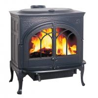 Jotul F600 CB BBE (Йотул Ф 600, сине-чёрная эмаль, система чистое горение)