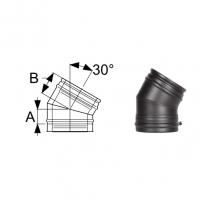 Schiedel Permeter Black Отвод 30°