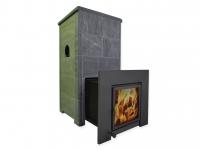 Теплонакопительная печь подового горения «ОНЕГО 35 Т45» для русской бани