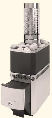 Печь-каменка Русь 18-ЛНЗ с нержавеющим кожух-конвектором