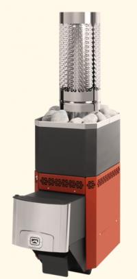 Печь-каменка Русь Л-12 для средних парильных помещений