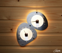 Термогигрометр для сауны Cariitti нержавеющая сталь для оптоволокна