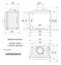Топка ANTEK/DECO