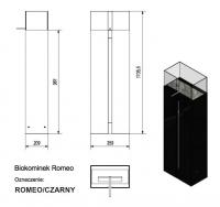 Биокамин Kratki ROMEO