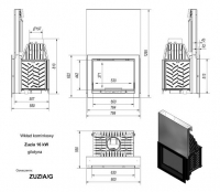 Топка ZUZIA/G, гильотина