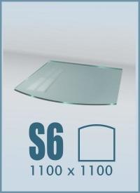 Стекло под печь S6