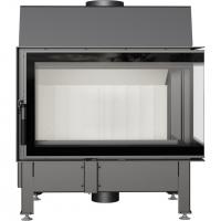 Топка Zibi/P/BS/DECO (угловое стекло справа)
