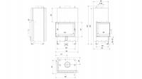 Топка с водяным контуром MBZ/PW/13/L/BS/W