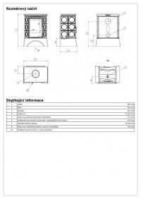 Керамическая печь Helvetia KPI, с допуском воздуха