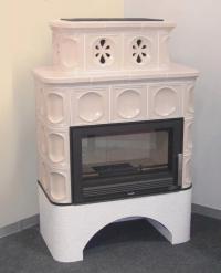 Керамическая печь KARELIE, с теплообменником