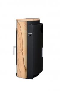 Печь-камин Yago 7 Аква, с теплообменником