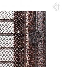 17х37 Оскар черная/медь с жалюзи