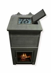 Теплонакопительная печь подового горения «ОНЕГО 25Т» для русской бани