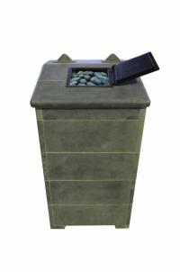 Теплонакопительная печь подового горения «ОНЕГО 35 Т15» для русской бани