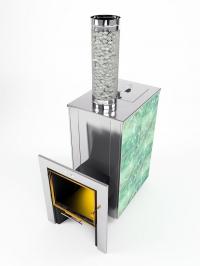 Банная  печь-камин КУТКИН 3.0