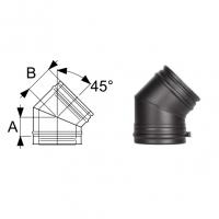 Schiedel Permeter Black Отвод 45°
