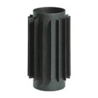 Tarnawa D150 Радиатор L=500 Black matte Толщина стали 2мм
