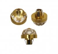 Хрустальная насадка Cariitti CR30 GOLD (золото) Swarovski Strass