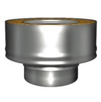Переходник моно-термо для дымохода Вулкан V50R 130/230