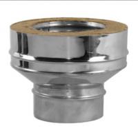 Переходник моно-термо (на конус) для дымохода Вулкан V50R 130/230