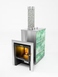 Банная  печь-камин КУТКИН 2.0