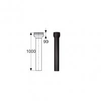 Schiedel Permeter Black Переходник Топка - PM25 1000 мм