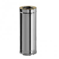 Труба прямая для дымохода Вулкан V50R 130/230 1000мм