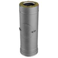 Труба с лючком ревизии для дымохода Вулкан V50R 130/230 500мм
