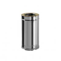 Труба прямая для дымохода Вулкан V50R 130/230 500мм
