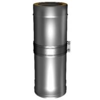 Труба телескопическая для дымохода Вулкан V50R 130/230 350-550мм